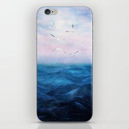 Watercolor Sea 5 iPhone Skin