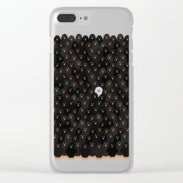 penguin huddle Clear iPhone Case