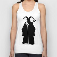 death Tank Tops featuring Death by Gurven