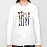 cargline Long Sleeve T-shirts featuring Another 1D poster by cargline