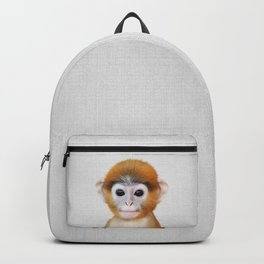 Baby Monkey - Colorful Backpack