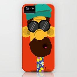 Mr. Huber iPhone Case