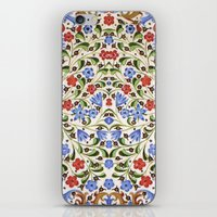 medieval iPhone & iPod Skins featuring Medieval Floral by Diana Kryski