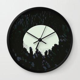 Neo tokyo Wall Clock