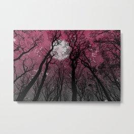 Moonlit Darkness Metal Print
