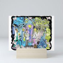 Dr. Langa's Laboratory Mini Art Print