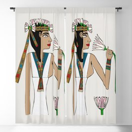 Lotus Dancer Blackout Curtain