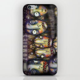 Uh oh Zombies iPhone Skin