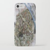 medical iPhone & iPod Cases featuring Silver Afghan Medical Marijuana by BudProducts.us