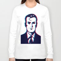 no face Long Sleeve T-shirts featuring face by radiozimbra