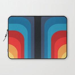 Retro Rainbow 01 Laptop Sleeve