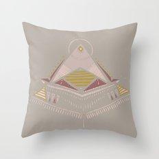 Pyramids 4 Throw Pillow