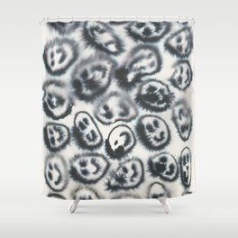 happy flow Shower Curtain