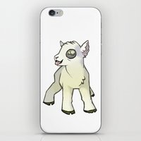 lamb iPhone & iPod Skins featuring Lamb by Suzanne Annaars