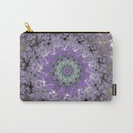 Fractal Wreath Carry-All Pouch