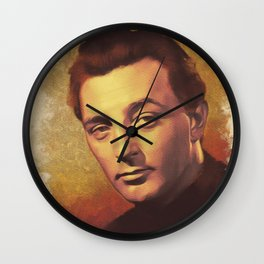 Robert Mitchum, Hollywood Legend Wall Clock