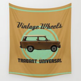 Vintage Wheels: Trabant 601 Universal Wall Tapestry