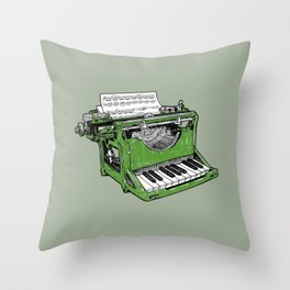 The Composition - G. Throw Pillow