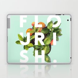 Flourish #society6 #buyart #typography #artprint Laptop & iPad Skin