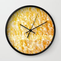 f1 Wall Clocks featuring PP – TEX F1 by Carlos Coutinho