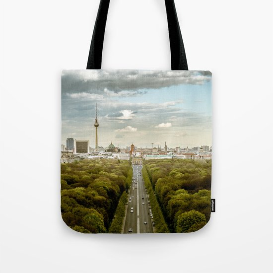 Berlin skyline Tote Bag
