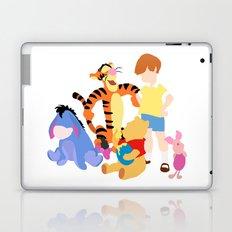 Winnie the pooh characters Laptop & iPad Skin
