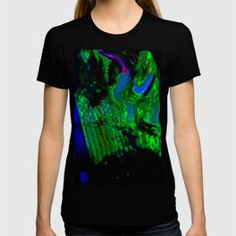 ALTERED PIXL STATES XI [BLUE PEARL] T-shirt