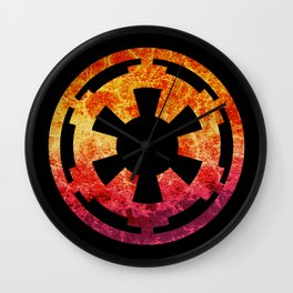 Star Wars Imperial Explosion Wall Clock