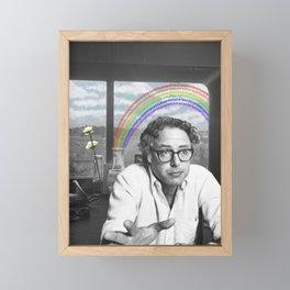 Bernie's Rainbow Framed Mini Art Print