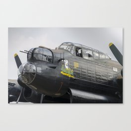 Thumper and the Lancaster Canvas Print