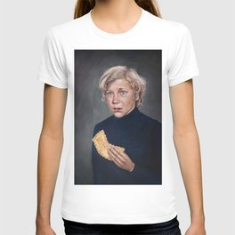 Charlie Bucket - Golden Ticket Willy Wonka Painting T-shirt