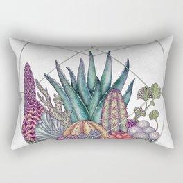 Love cacti Rectangular Pillow