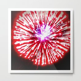 Baby You're a Firework Metal Print
