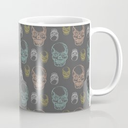 Flirty Skulls Coffee Mug