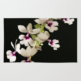 Calanthe rosea Orchid Rug