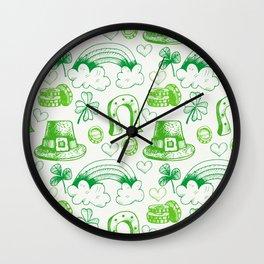 sant ptrick day, irish gift, ireland, Wall Clock