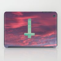 lsd iPad Cases featuring LSD cross in the sky by SaraSea