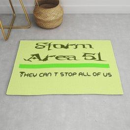 Storm Area 51 Rug
