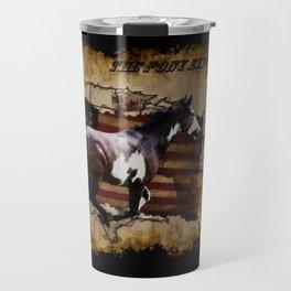 The Pony Express Travel Mug
