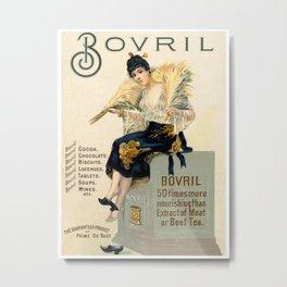 Bovril Metal Print