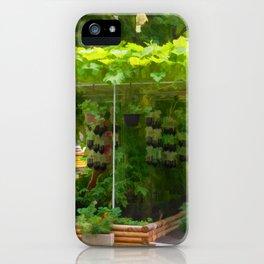 Organic Gardening 1 iPhone Case
