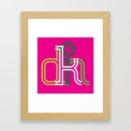 kolor it with kindness Framed Art Print
