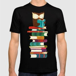 Owl Reading Rainbow T-shirt