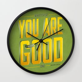 You Are Good Wall Clock