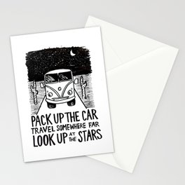 Adventure Bus Stationery Cards