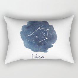 Libra Constellation Zodiac Print Rectangular Pillow