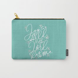 Joy to the World - Holiday Carry-All Pouch