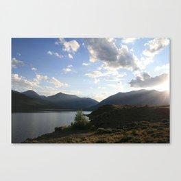 Sunbeam Lake Canvas Print