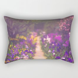 Walking with Monet Rectangular Pillow
