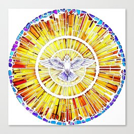 Holy Spirit in Christianity Catholic Church Trinity Sacred, God, Jesus, Bible Canvas Print